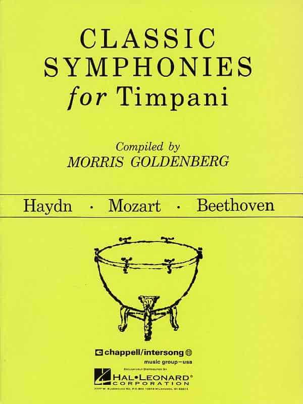 Classic Symphonies For Timpani by Morris Goldenberg