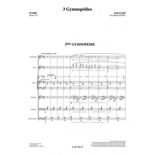 3 Gymnopedies by Satie arr. Raphael Aggery