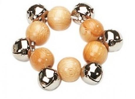 Rohema Wrist Bells - 6 Cross Bells (Medium Pitch)
