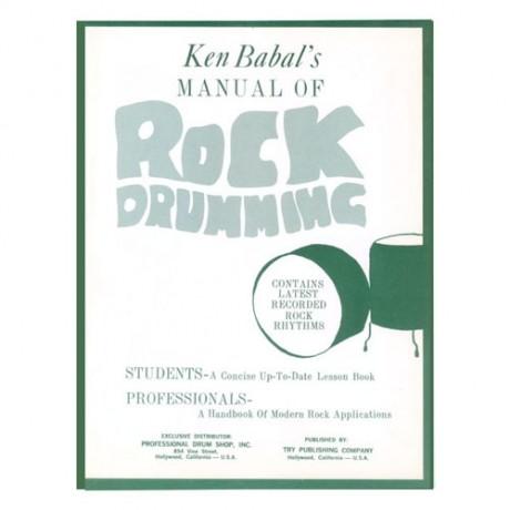 Manual Of Rock Drumming