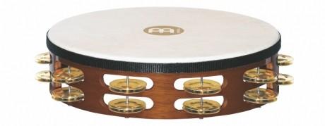 Meinl TAH2B-AB Meinl TAH1B-AB Brass Double Row Tambourine
