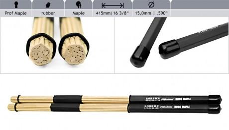 Rohema Professional Hot Rods (Maple)