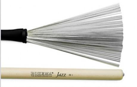 Rohema JB1 Wire Brushes (Hickory Handle)