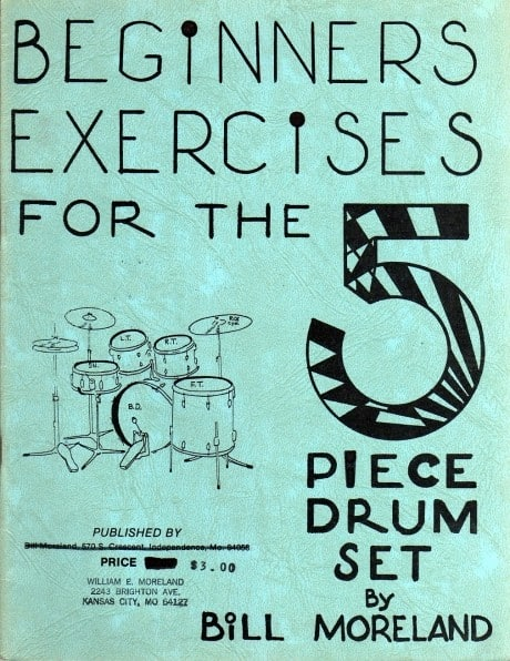 Beginners Exercises for the 5 Piece Drum Set