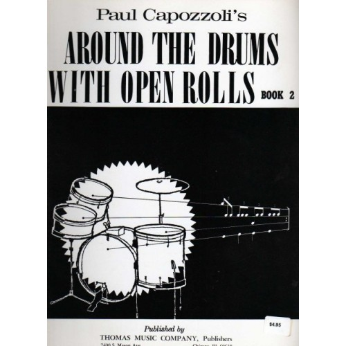 Around the Drums with Open Rolls Book 2 (Out of Print)