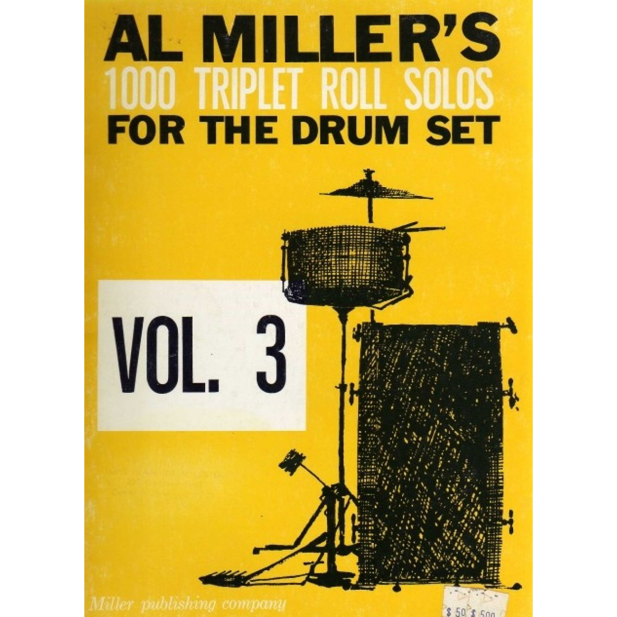 1000 Triplet Roll Solos For The Drum Set Vol. 3