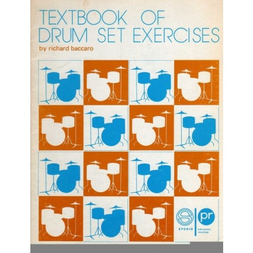 Textbook of Drum Set Exercises (Lasy Copy - Out of Print)
