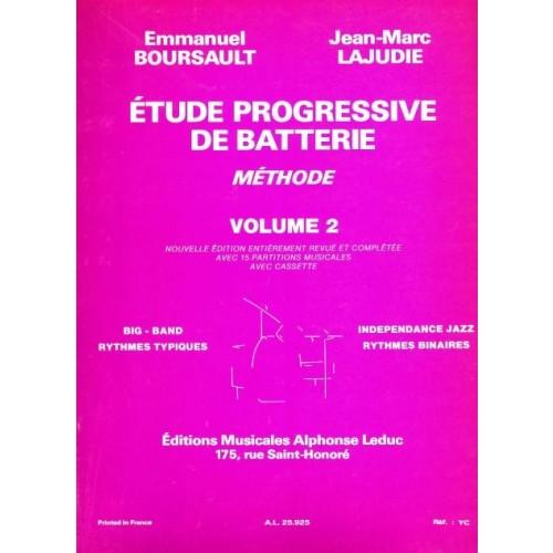 Etude Progressive de Batterie Volume 2