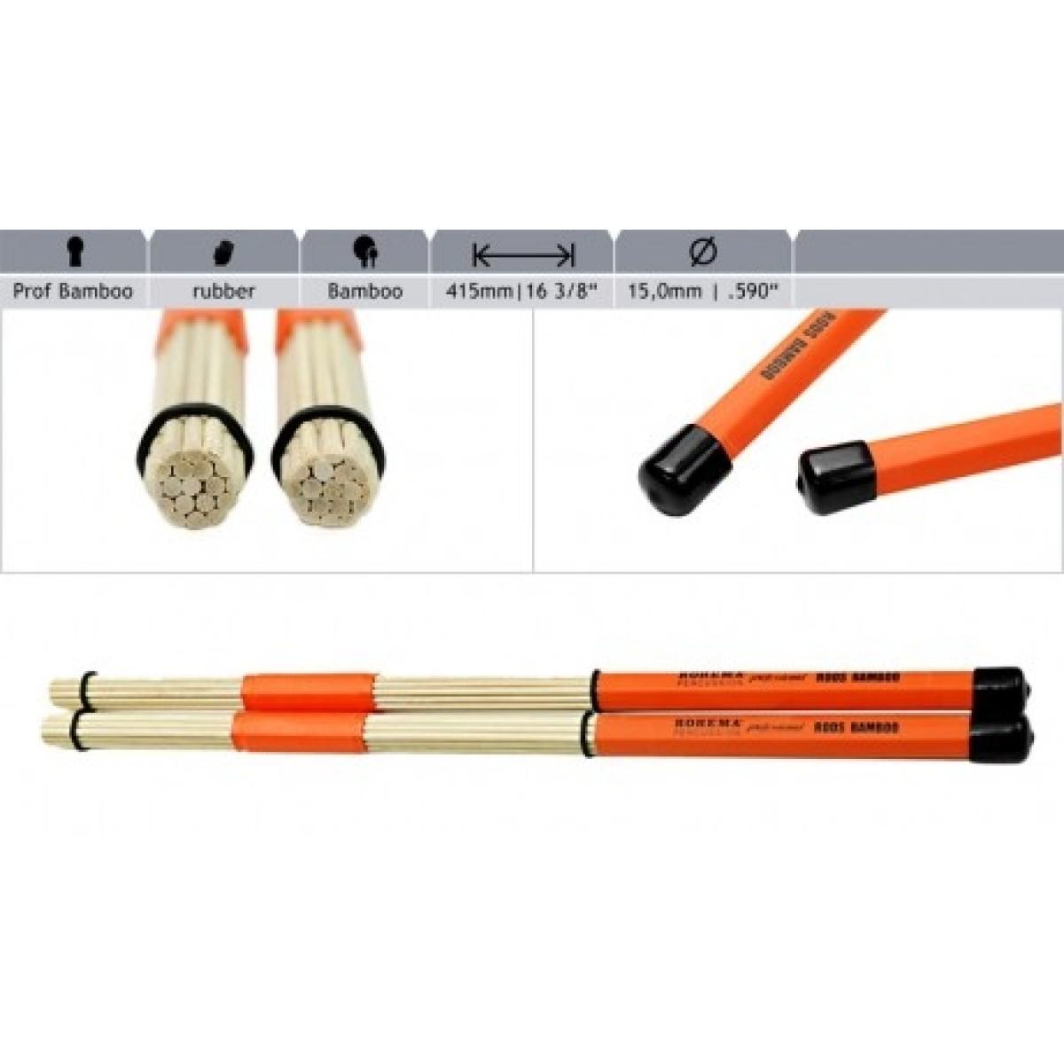 Rohema Professional Hot Rods (Bamboo)